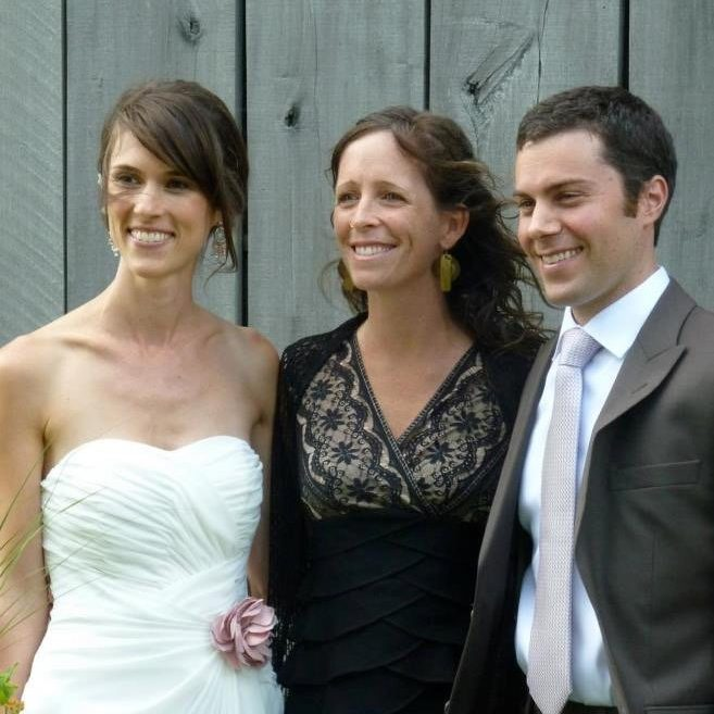 Co-Founder, Jane Sarouhan, officiating a wedding